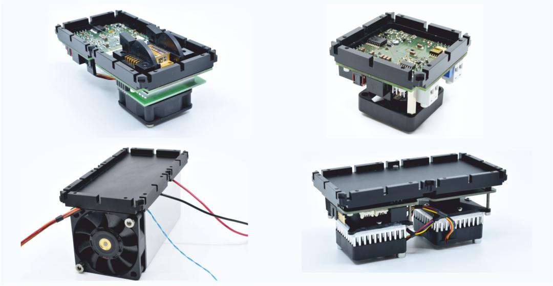 Fiberspider Electronic Modules