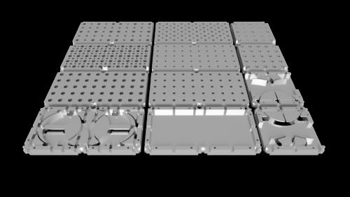 Fiberspider Passive Modules